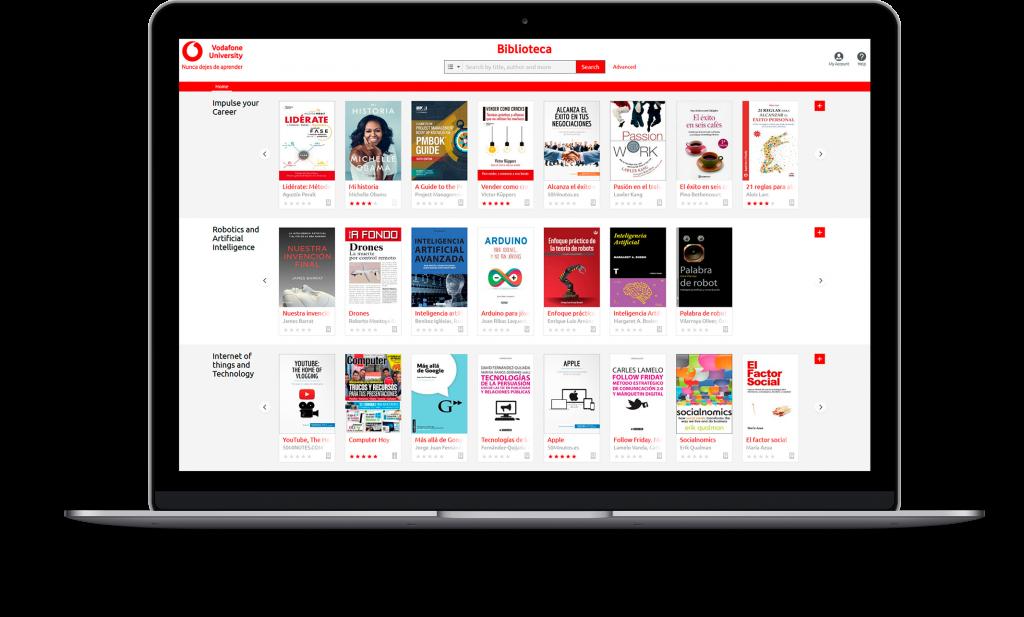 Vodafone University by ODILO